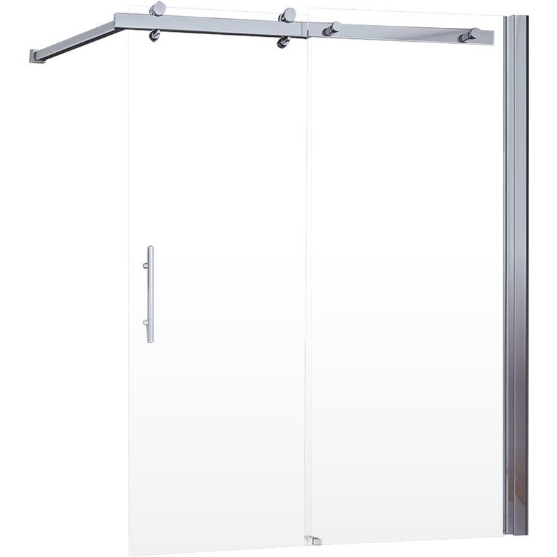 Schulte - Pare-baignoire coulissant, 70 - 120 x 150 cm, paroi de baignoire