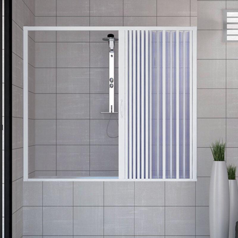 IDRALITE Pare baignoire douche en Plastique PVC mod. Nina 170cm avec ouverture latérale