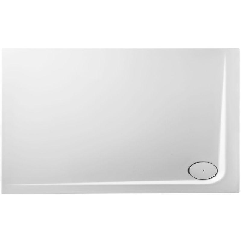 NORD Receveur de douche en acrylique 140x90x14 rectangulaire AMI15OD blanc