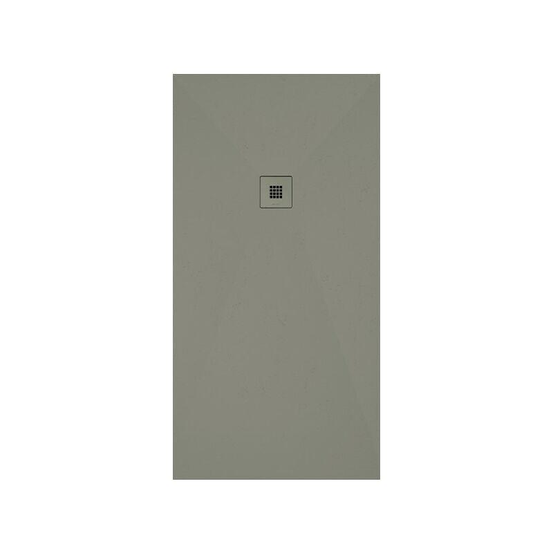 Profiltek - Receveur de douche Gotham   140 x 90 cm - Zinc