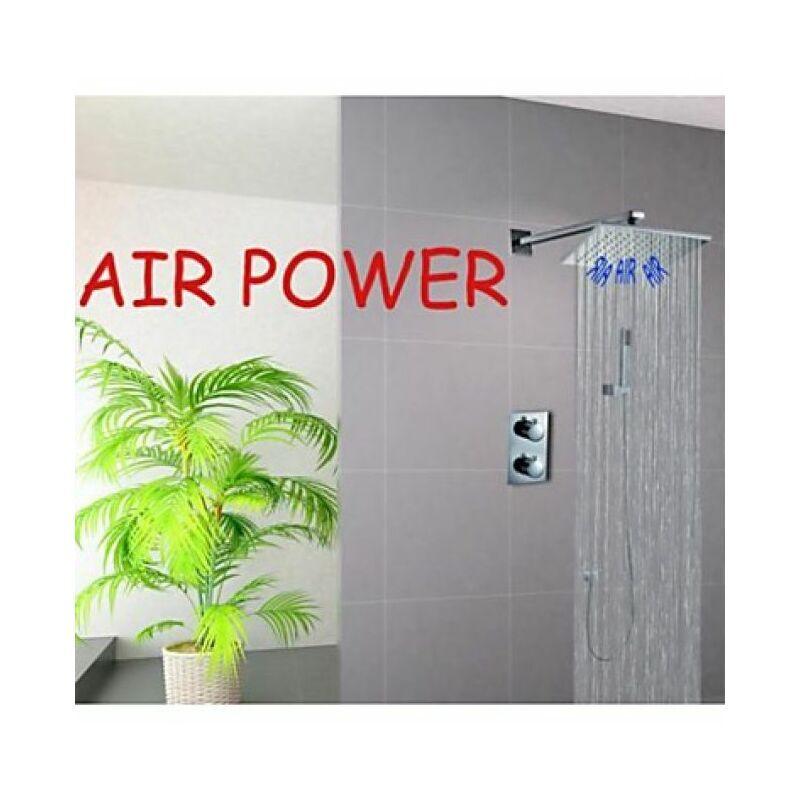 LOOKSHOP Robinet de douche thermostatique sortie d'eau en pluie