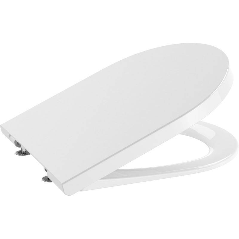 ROCA Abattant WC Inspira Silencio frein de chute déclipsable - Roca A80152200B