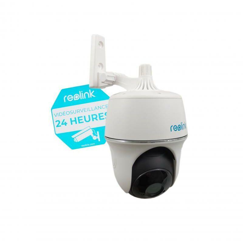 Ultra Secure - Caméra motorisée 100% sans-fil autonome IP / WIFI - Plage