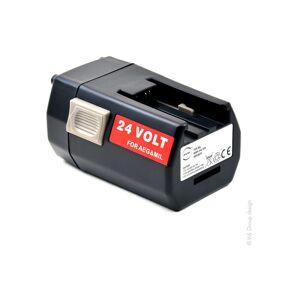 Nx ™ - NX - NX - Batterie visseuse, perceuse, perforateur, ... 24V 3Ah - Publicité