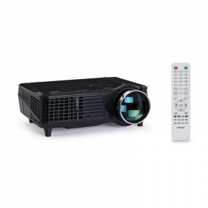 FONESTAR LED VideoProjecteur 1500 Lm VGA - HDMI - Lecteur USB, supporte 1080P, mise au - Publicité