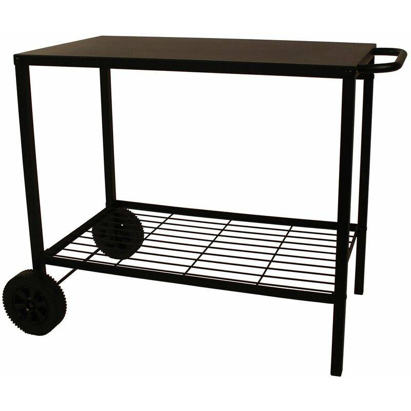COOKING BOX chariot pour plancha 85cm noir - 976.0006 - Cooking Box