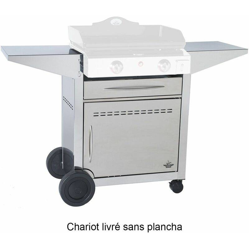 FORGE ADOUR chariot plancha 127 x 50 x 86 cm - 923600 - Forge Adour