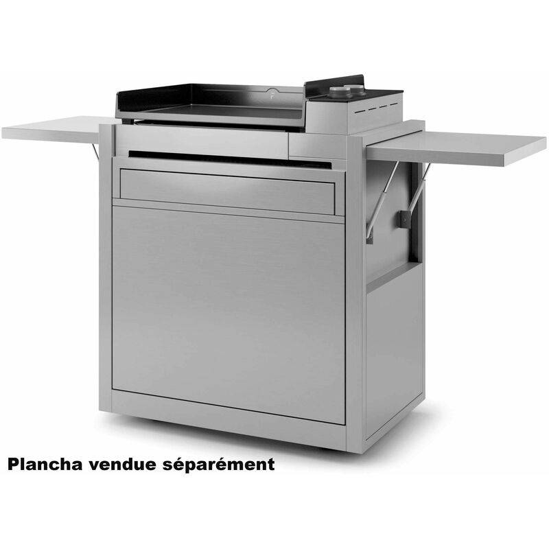 FORGE ADOUR chariot pour plancha inox - chpif60 - Forge Adour