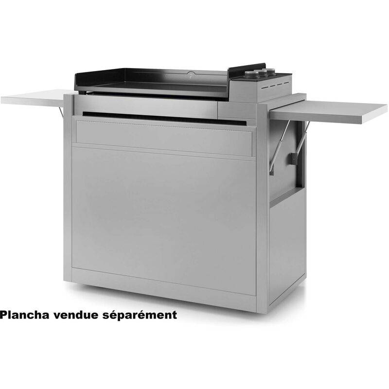 FORGE ADOUR chariot pour plancha inox - chpif751 - Forge Adour
