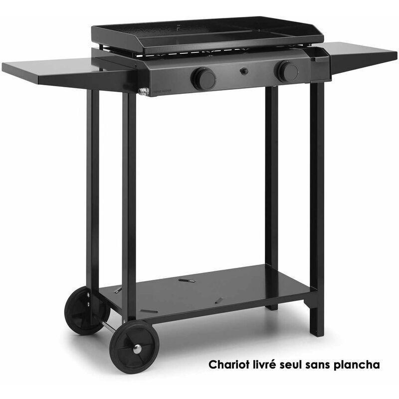 FORGE ADOUR chariot pour plancha noir - chba60 - Forge Adour