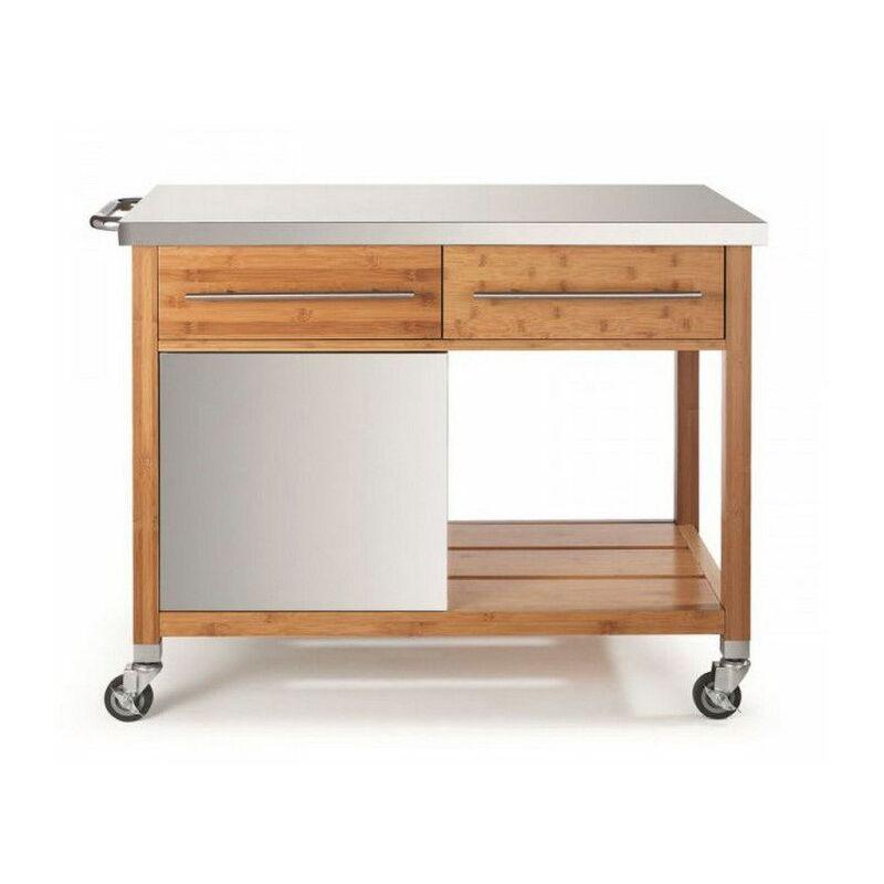DM CREATION chariot pour plancha 2 tiroirs - 00067n - dm creation