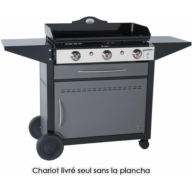 FORGE ADOUR chariot pour plancha - 925750 - forge adour