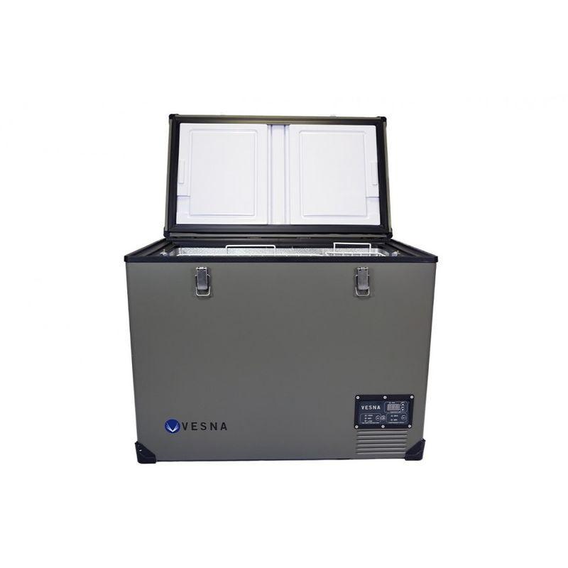 VESNA STEEL Glacière congélateur portable électrique à compression 100L - Vesna