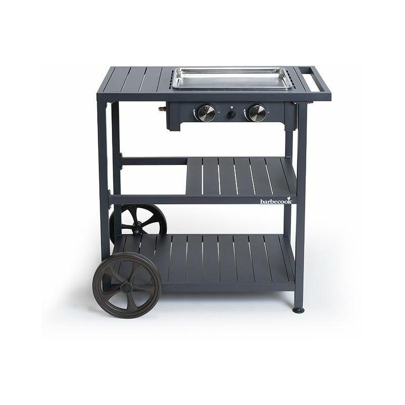 BARBECOOK Plancha Gaz Victor sur Chariot - Barbecook