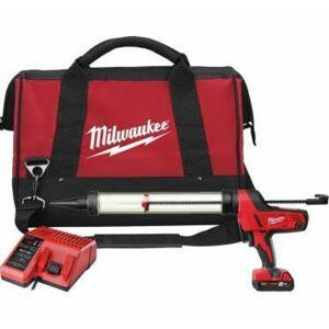 MILWAUKEE Pistolet à colle 600 ml C18 PCG 600A-201B - 1 batterie 18V 2.0 Ah - 1 chargeur - Publicité