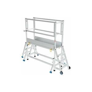 ESCABEAU DIRECT - MATISERE D. Plateforme aluminium pour une hauteur de travail maximale de 3.40m - Publicité