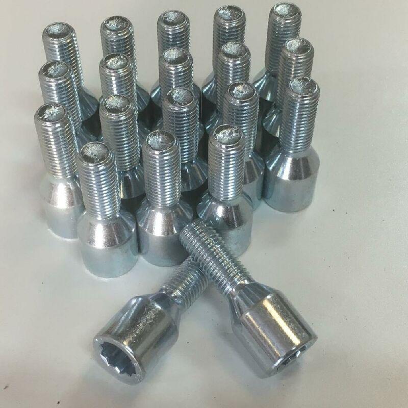 20 Vis Etoile Courtes 12x150 L2 25mm - Acier Forge - coniques
