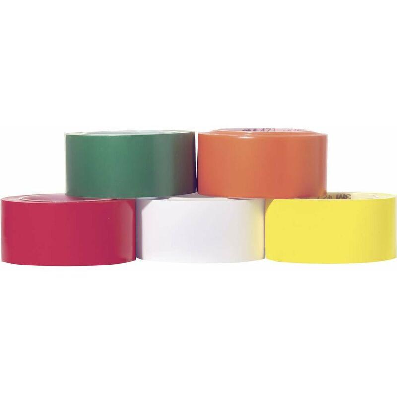 3M Ruban adhésif PVC 764i 3M 70-0062-9966-6 blanc (L x l) 33 m x 50 mm résine