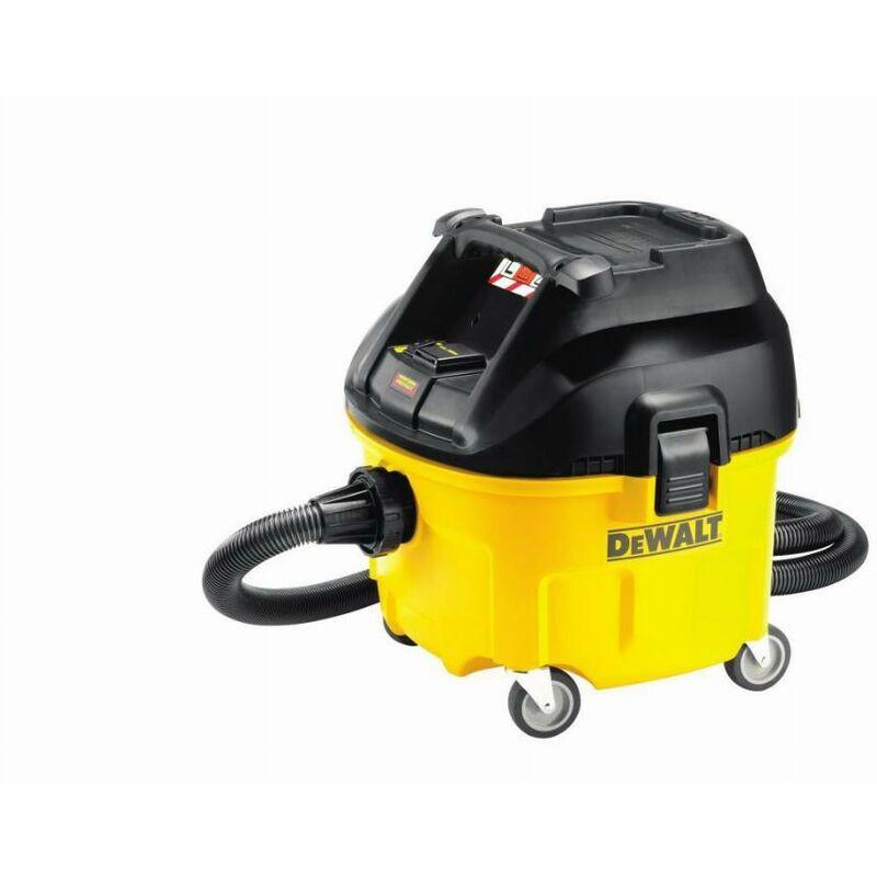DEWALT Aspirateur DEWALT Eau et poussieres - 1400W 30L - DWV901L