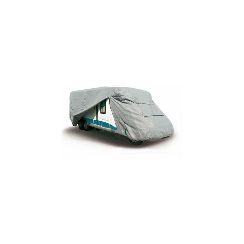 HELIAUTO Housse Camping Car en PVC 160 grs/m² pour usage intensif 850x260x280 cm