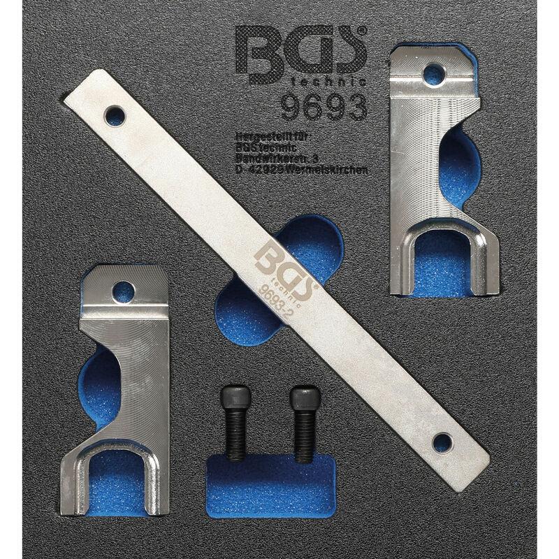 BGS technic Insert de servante d'atelier 1/6 : Jeu d'outils de réglage d'arbre