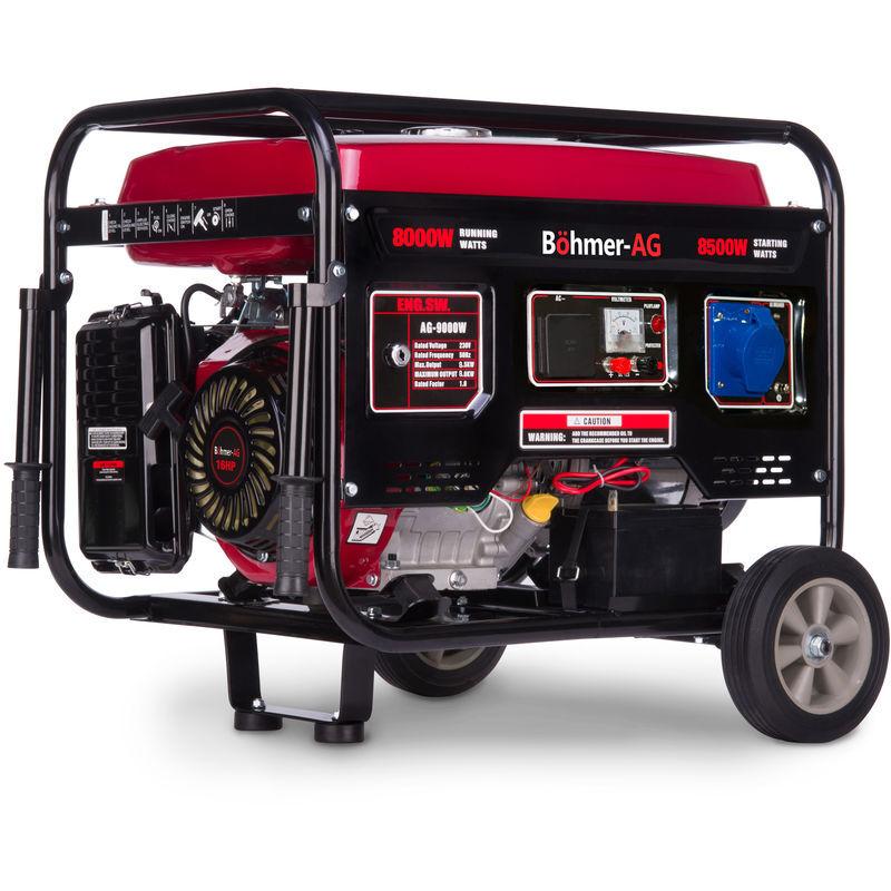 Böhmer-AG 9000W-E - 8500W Groupe électrogène essence - démarrage électrique