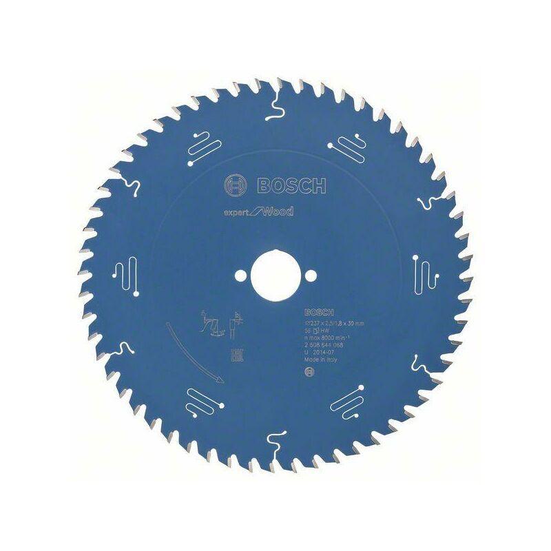 Bosch Lame de scie circulaire Expert for Wood, 237 x 30 x 2,5 mm, 56
