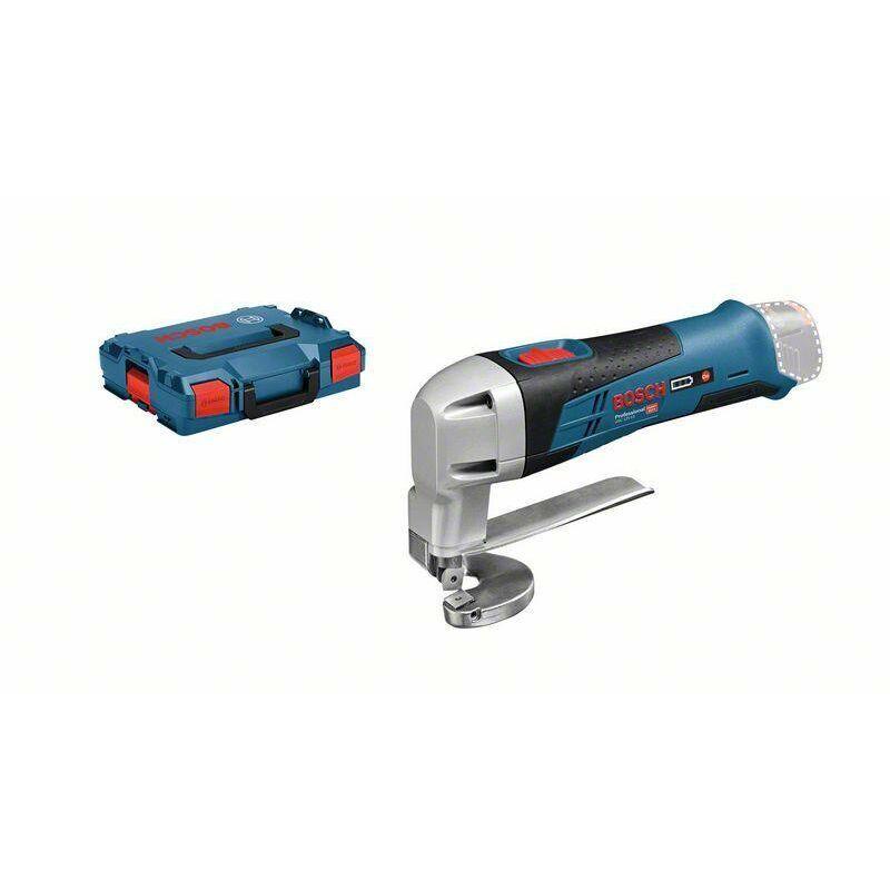 Bosch Professional Cisaille à tôle sans-fil GSC 12V-13, L-BOXX (sans batterie