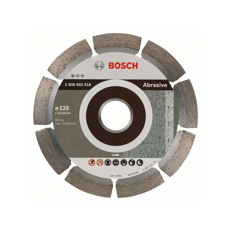 Bosch Disque à tronçonner diamanté Standard for Abrasive 125 x 22,23 x 6 x 7 mm