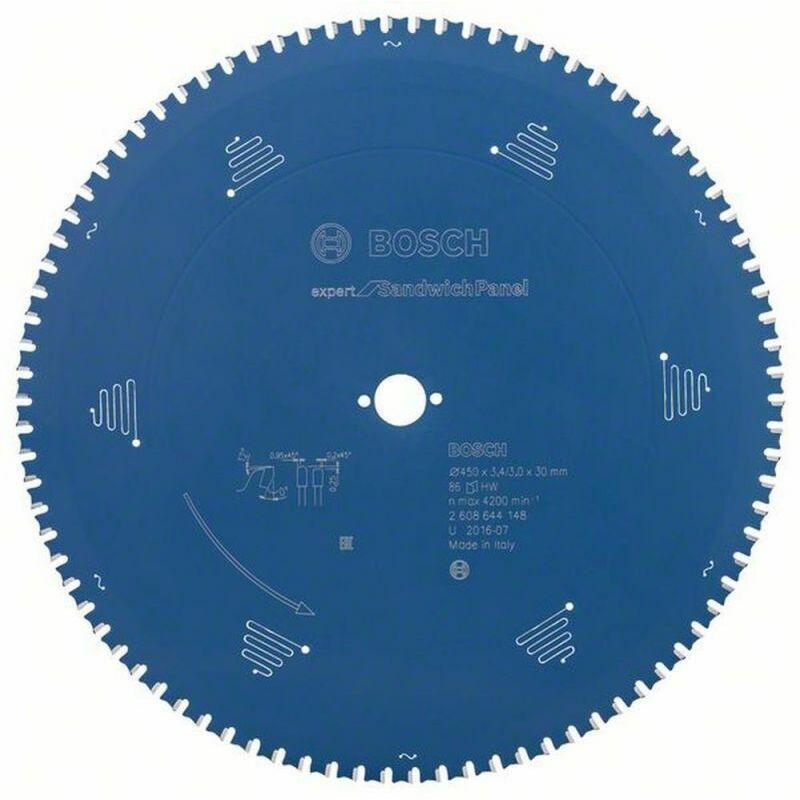 Bosch Lame de scie circulaire Expert for Sandwich Panel 450 x 30 x 3,4/3,0 x 86
