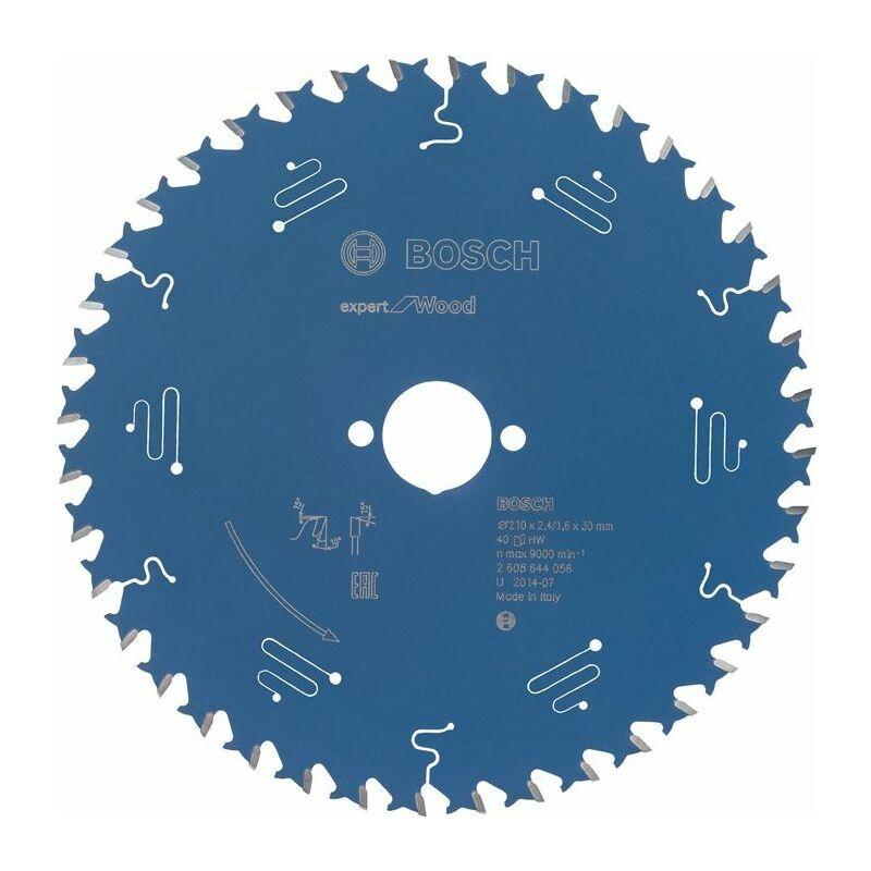 Bosch Lame de scie circulaire Expert pour bois, 120 x 20 x 1,8 mm, 12
