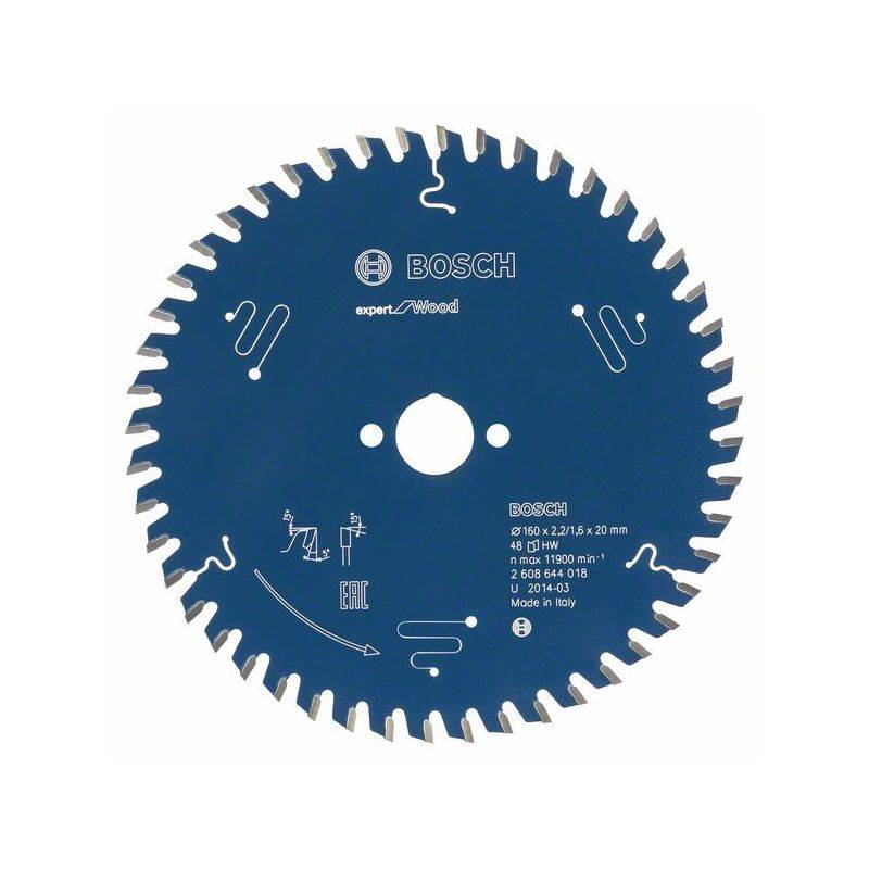 Bosch Lame de scie circulaire Expert for Wood, 130 x 20 x 2,4 mm, 36