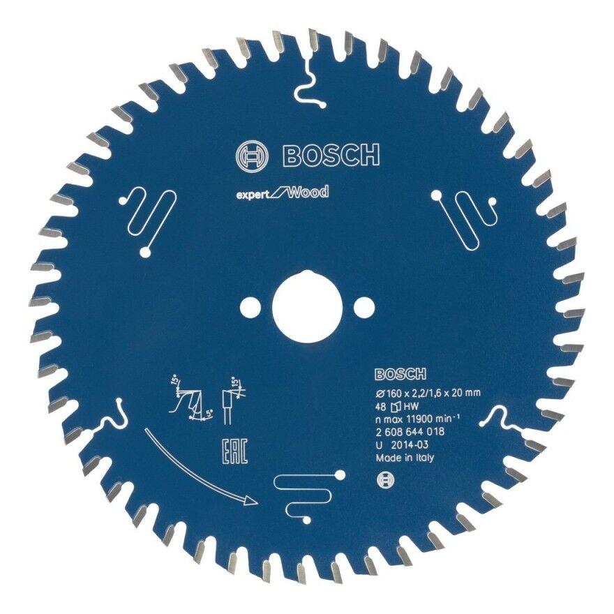 BOSCH Lame de scie circulaire Expert 190x30x2,6 56T Bosch