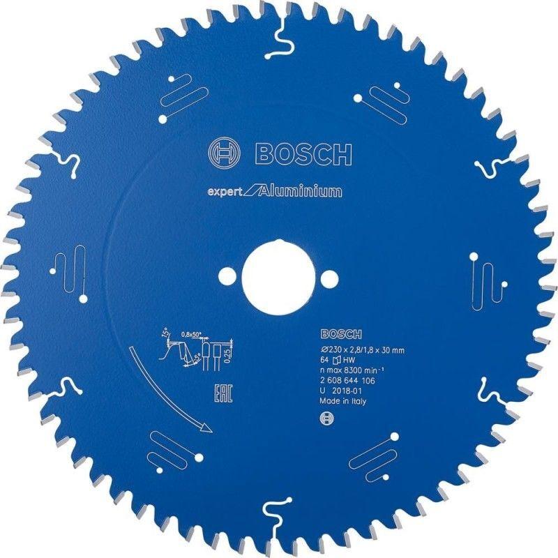 HAZET Bosch Lame de scie circulaire Expert for Aluminium, 230 x 30 x 2,8 mm, 64
