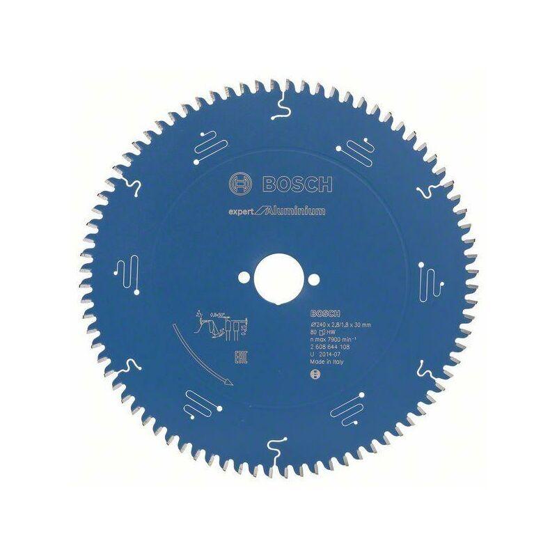Bosch Lame de scie circulaire Expert for Aluminium, 240 x 30 x 2,8 mm, 80
