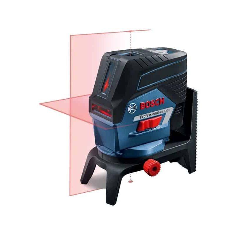 BOSCH Laser combiné 2 plans 50m GCL2-50C + RM3 L-BOXX - 0601066G04