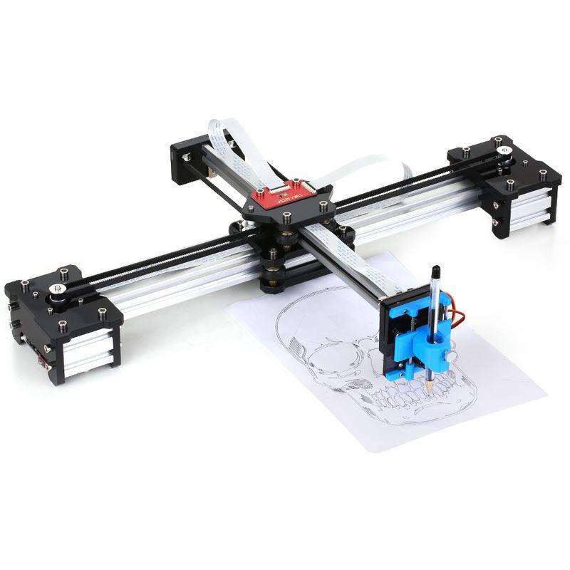 ASUPERMALL Bricolage Bureau Assemble Xy Traceur Pen Dessin Robot Dessin Machine Peinture