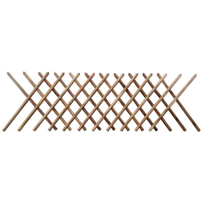 YOUTHUP Clôture à treillis Bois imprégné 250 x 100 cm