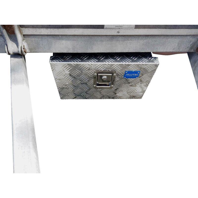 ALUTEC Coffre en tôle à damier Alutec TRUCK 23 41023 aluminium (L x l x H) 425 x 265 x