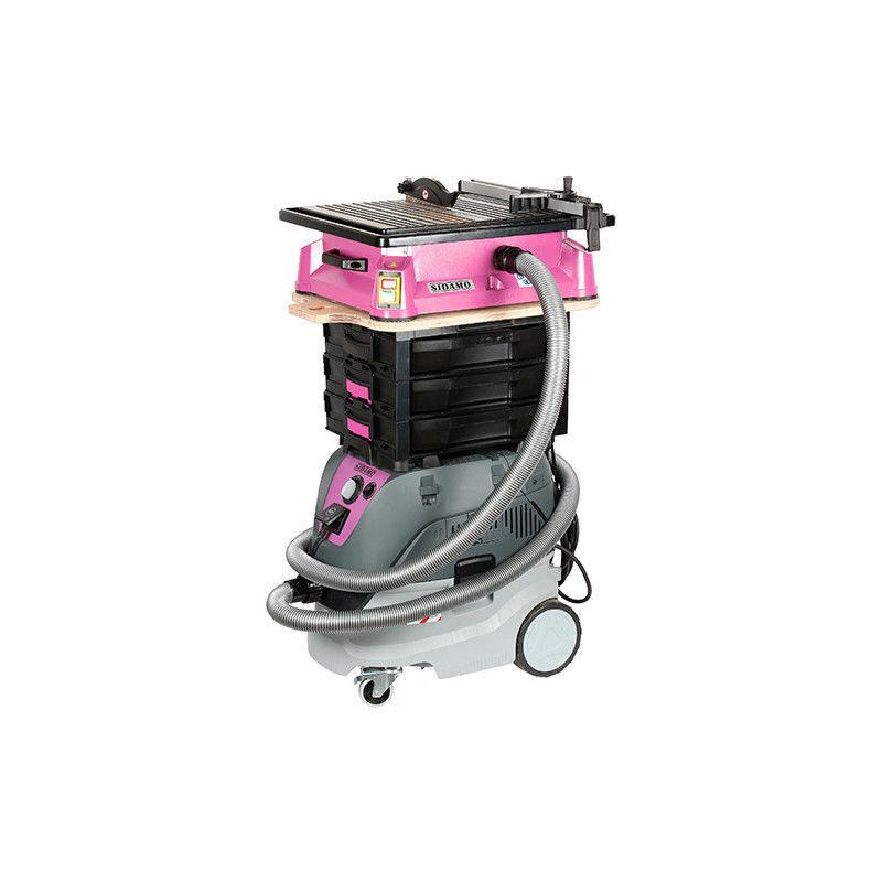 Sidamo - Combiné Scie carrelage Diaminipro 180 D. 180 mm 750 W + AspirateurXC30