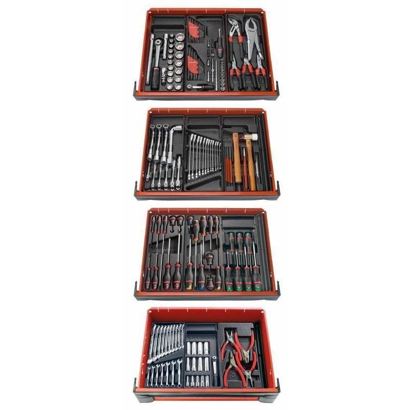 FACOM Composition 12 modules pour 4 tiroirs servante Facom CM.V8PB 1934.05