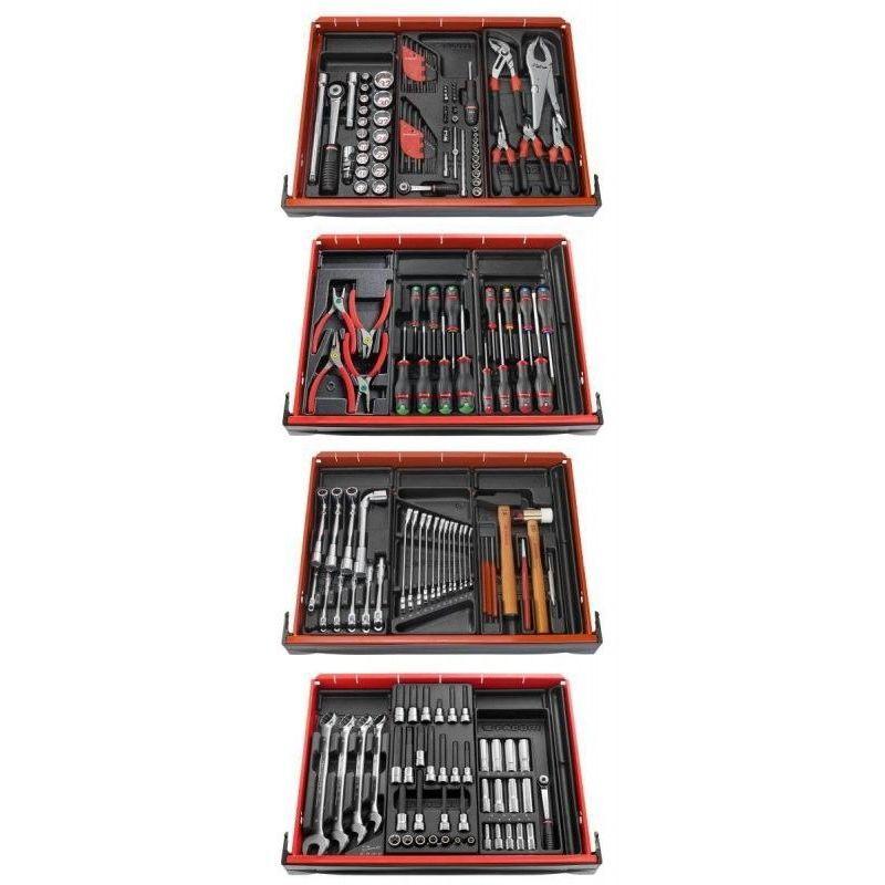 FACOM Composition 12 modules pour 4 tiroirs servante Facom CM.V10PB 2162.92