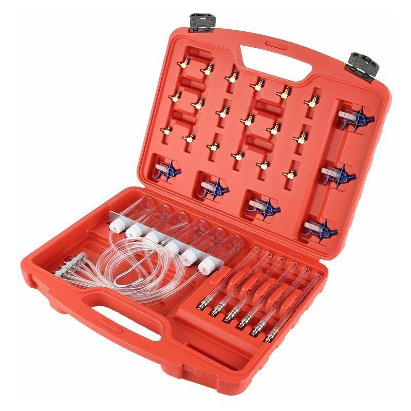 OOBEST Compteur de Débit d'Injecteur Diesel Cylindre de Diagnostic Kit de Test de