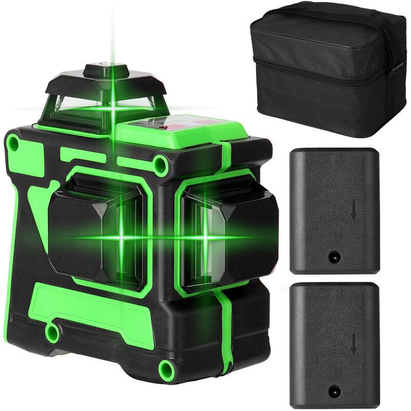 Happyshopping - Compteur de niveau laser 3D a 12 lignes avec indicateur de