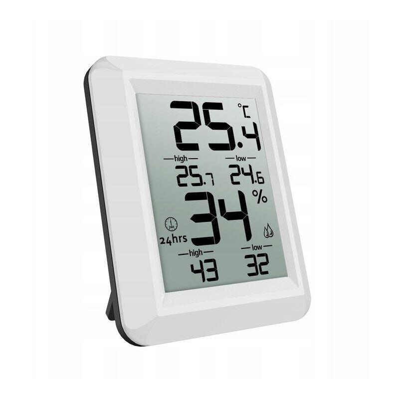ILOVEMONO Compteur de température et d'humidité intérieure, thermomètre numérique avec