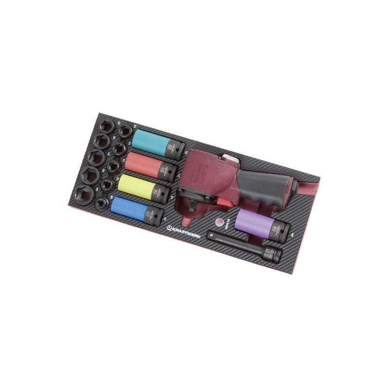 KRAFTWERK Coquille de clé à choc pneum. EVA3 18-p. Kraftwerk 4903-33 369.34