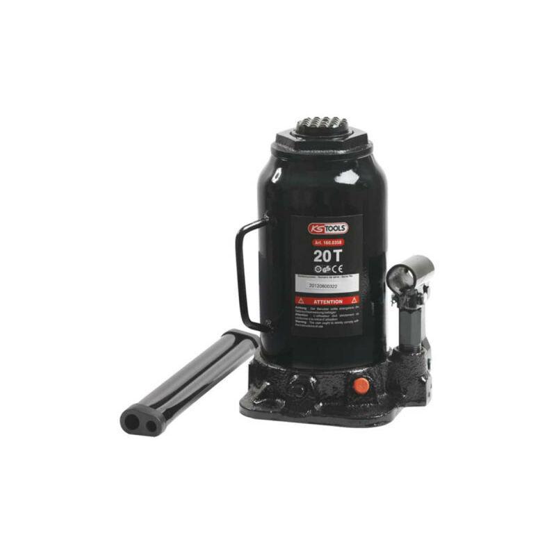 KSTOOLS Cric bouteille hydraulique KS TOOLS - 20T - 160.0358