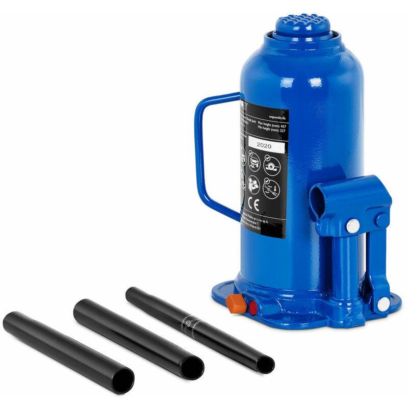 Helloshop26 - Cric bouteille hydraulique pour voiture de levage professionnel