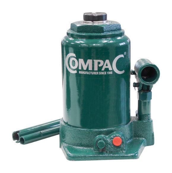 COMPAC Cric bouteille hydraulique Telescopique 10 Tonnes Fonte -S13029 - Compac