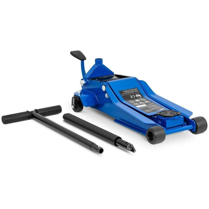 Helloshop26 - Cric rouleur hydraulique voiture mobile roulant professionnel